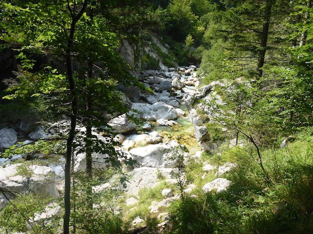 Klettersteig Soca Quelle : Touren in slowenien tageswanderung zur soča quelle und