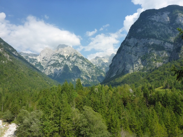 Triglav Nationalpark Wanderung Soča Quelle