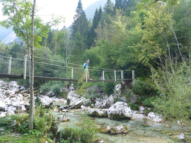 Wanderung Triglav Nationalpark Soča Quelle