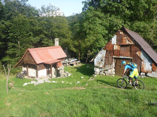 Stol MTB Slowenien Soča