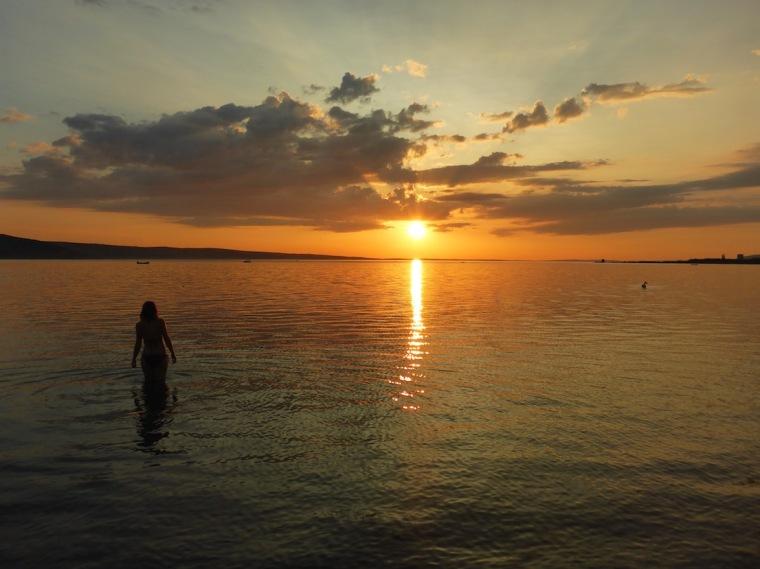 Sonnenuntergang Kroatien Seline