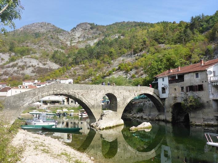 Stari Most in Rijeka Crnojevića Montenegro