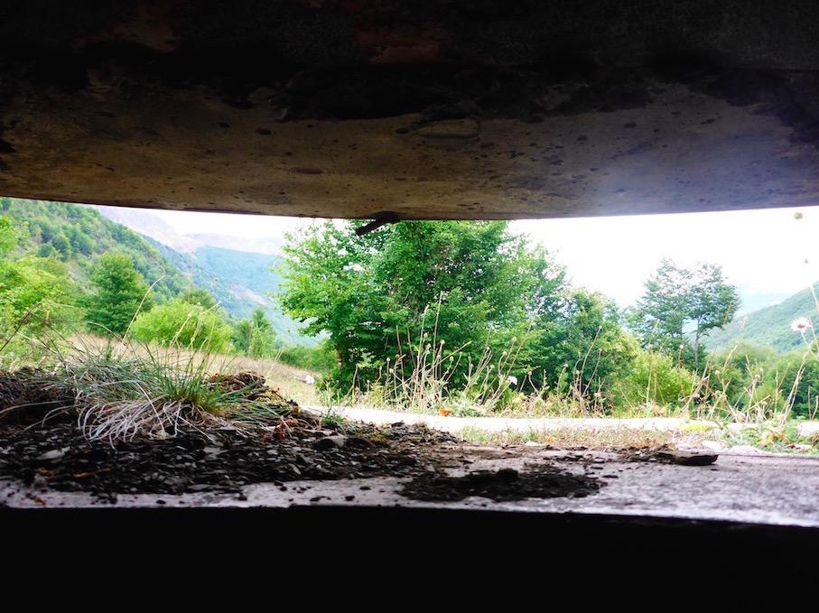 In einem Bunker von Enver Hoxha / Hodscha in Albanien