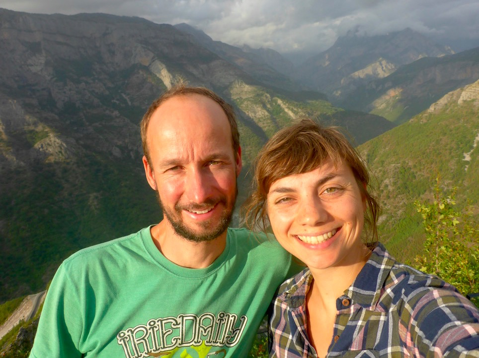 Albanische Alpen.