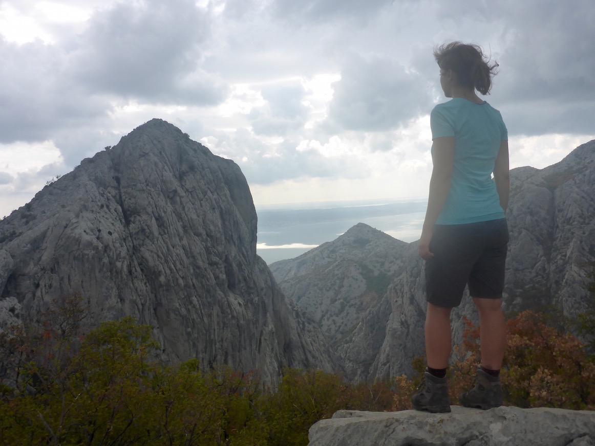 Anika Kuk Paklenica Nationalpark Kroatien