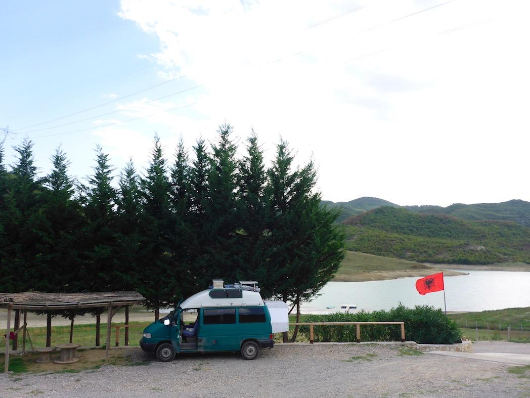 Campingplatz Tirana Albanien