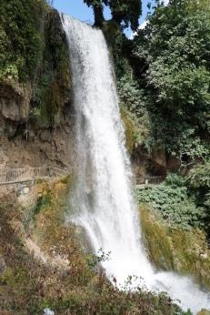 Der Wasserfall von Edessa.