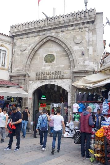 Ein Eingang des Großen Basars.