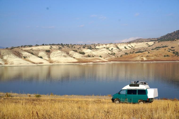 Camlidere Baraji See Türkei