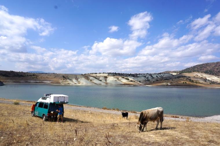Camlidere Baraji See Türkei Overland