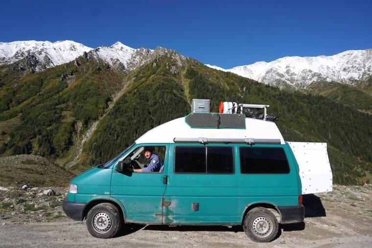 Kaçkar Nationalpark Berge Türkei Wandern Auffrort Overland