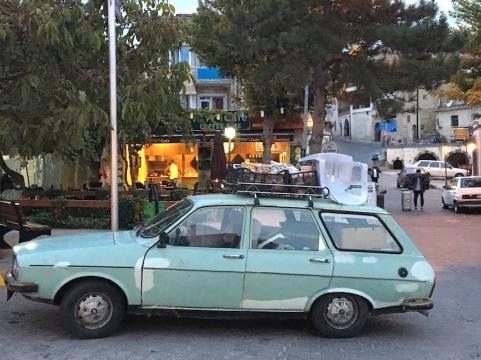Auto in Göreme.