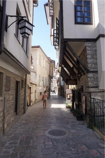 Alstadt von Ohrid.