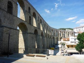Das Aquadukt von Kavala.