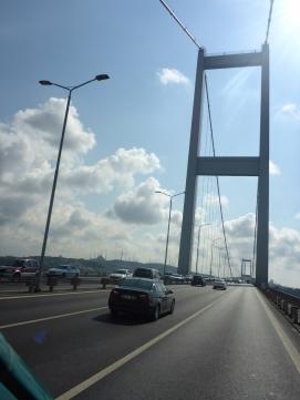 Bosporus Brücke.