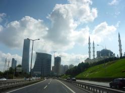 Hochhäuser in Istanbul.