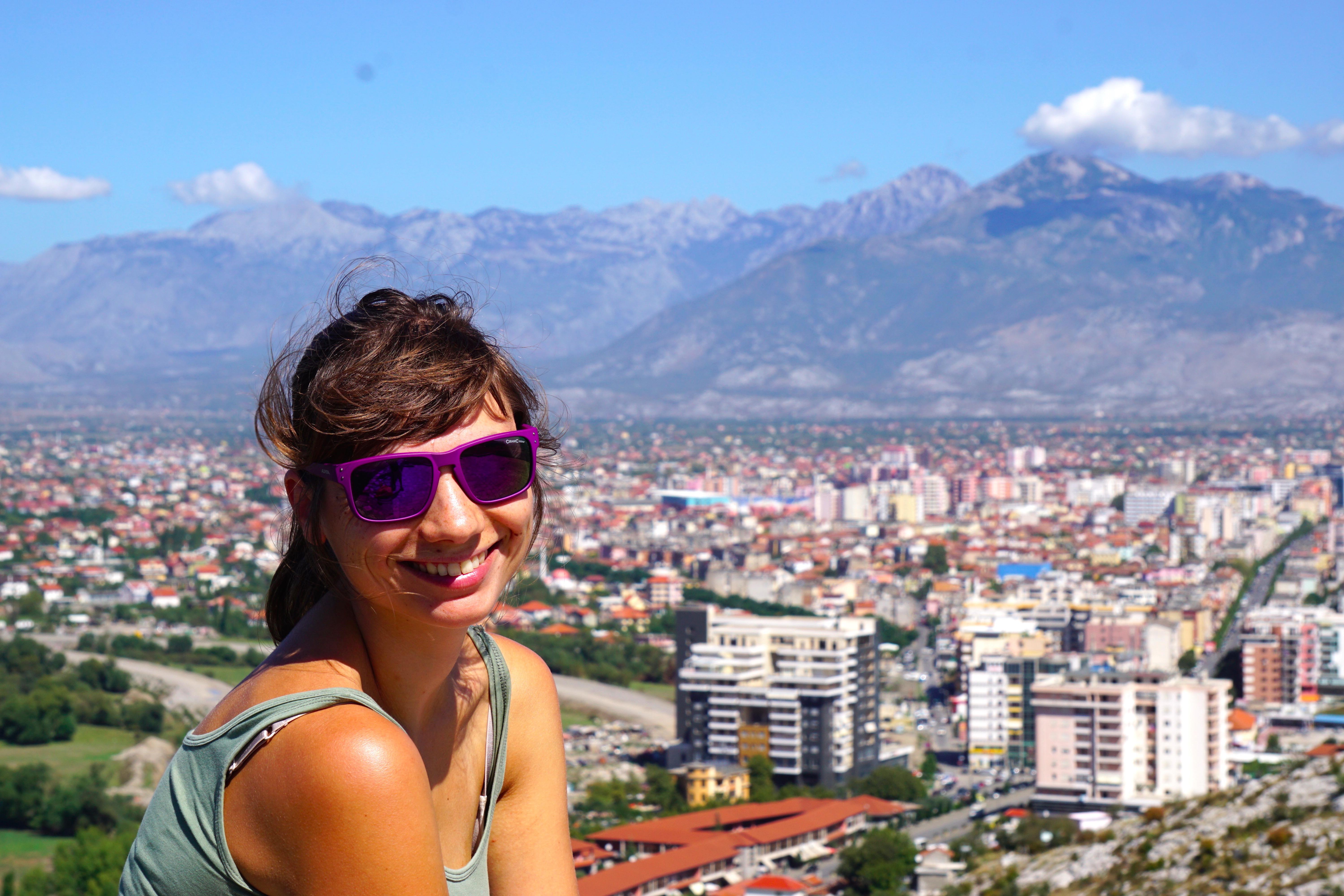 Shkoder, Albanien.