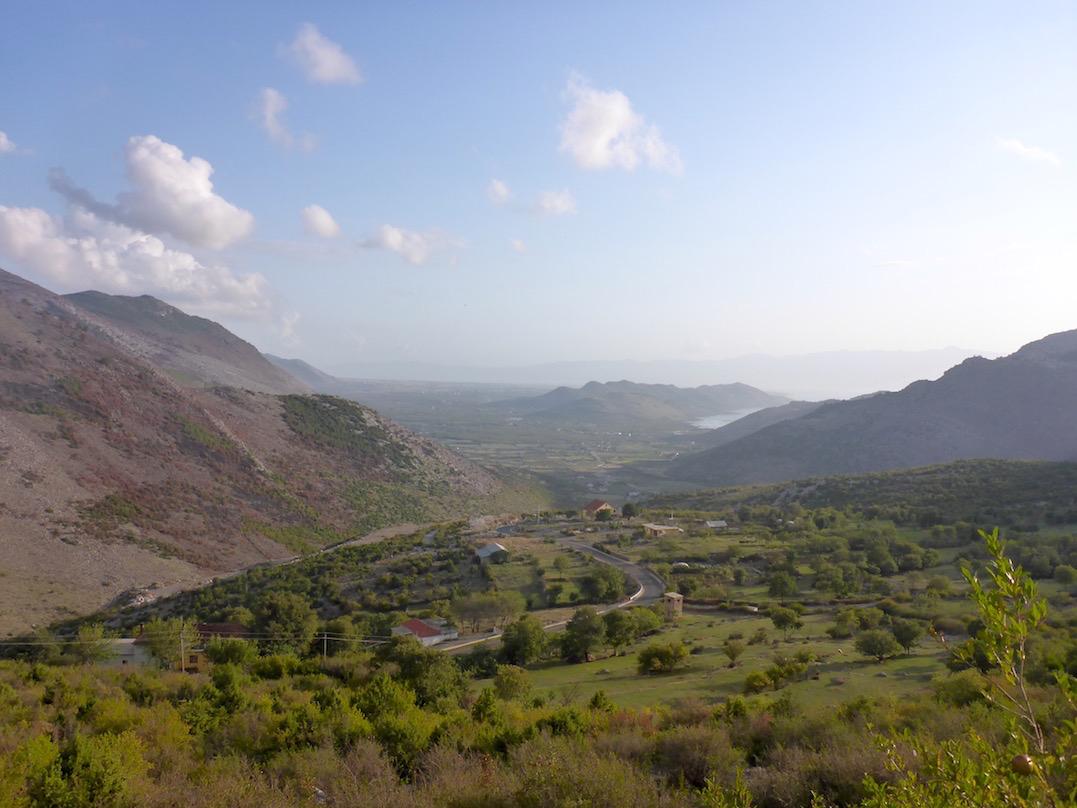 Shkoder See Albanien