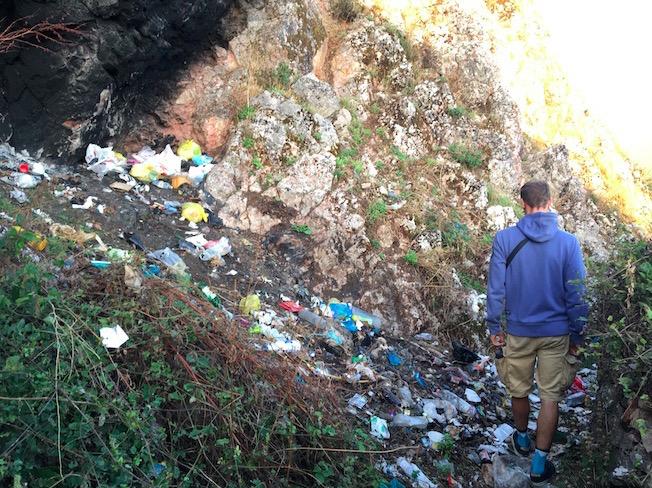Wanderweg Lin Ohrig See. Albanien