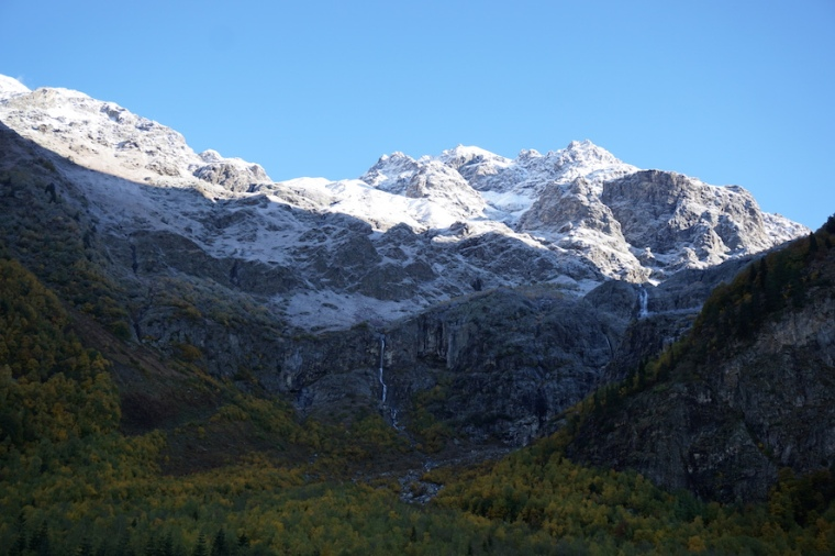 Wandern Kaukasus Mestia Ushba