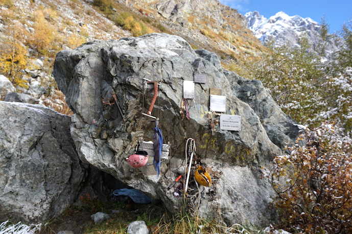 Ushba Wandern Kaukasus Mestia Swanetien