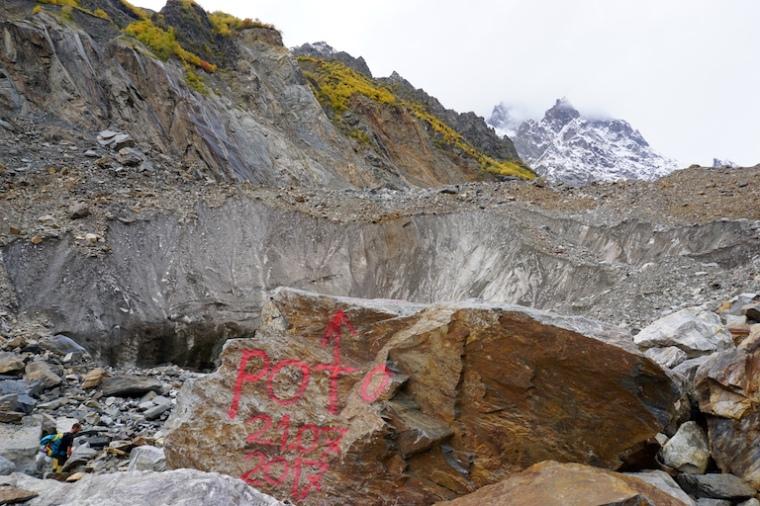 Wandern Georgien Chalaadi Gletscher Swanetien