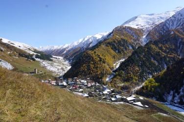 Eines der Dörfer