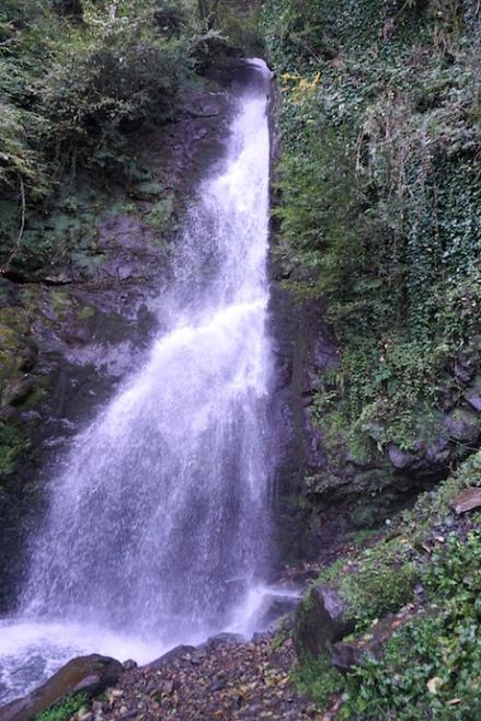 Der Wasserfall.