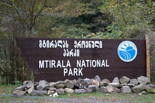 Mtirala Nationalpark.