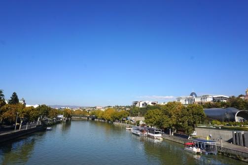 Der Fluss Kura.