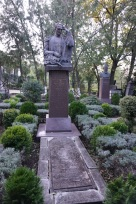 Friedhof im Botanischen Garten.