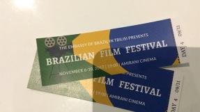 Tickets für das Brasilianisches Filmfestival.