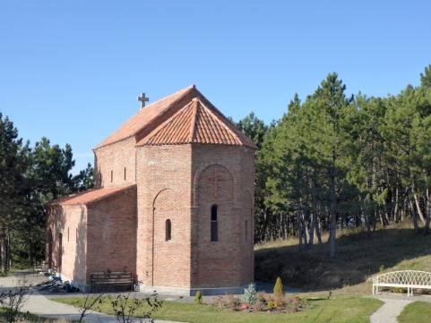 Die Klosterkirche.