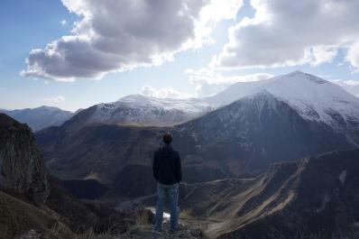 Aussicht vom Jwari Pass.