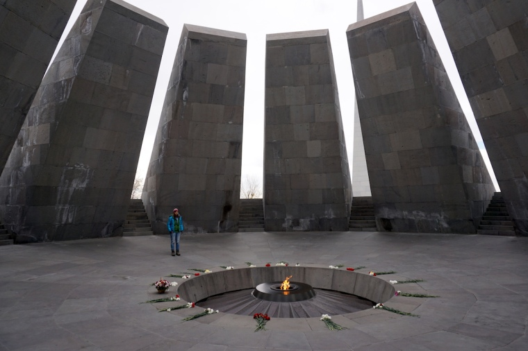 Yerevan, Armenien, Genozid-Denkmal