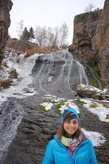 Der Wasserfall von Jermuk.