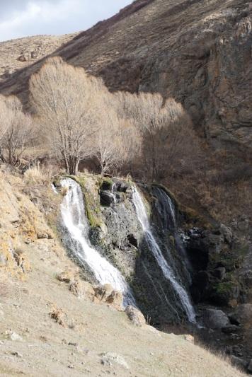 Der Shaki Wasserfall.