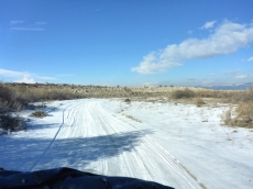 Der Weg zum Sewansee.