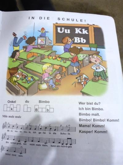 Vielleicht nicht das beste Beispiel aus dem Deutschbuch.