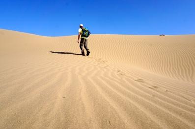 Noch mehr Wüste.