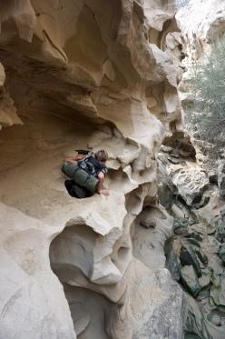 Im Chakooh Canyon.
