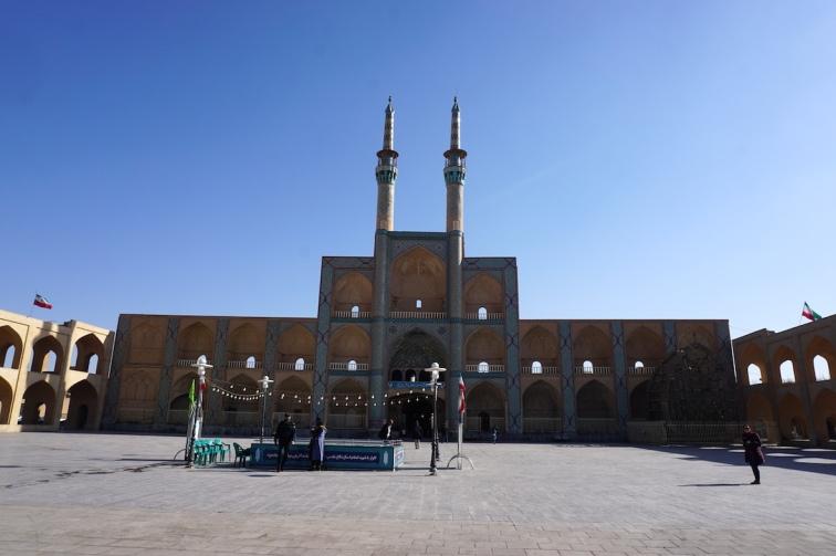 Zentraler Platz in Yazd.
