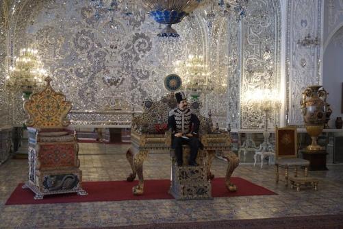 Im Golestan Palace.