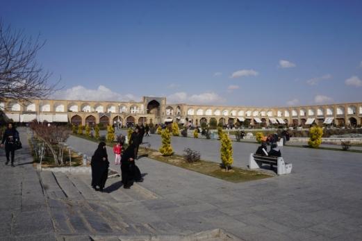 Der Naqsh-e Jahan Square (Imam Square).