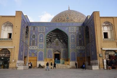 Eingang zur Sheikh Lotf Allah Moschee.