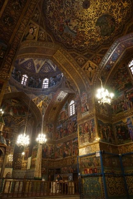 Der Innenraum der Kathedrale.