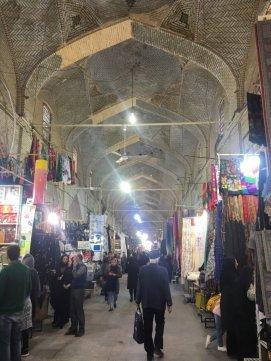 Der Große Basar von Shiraz.