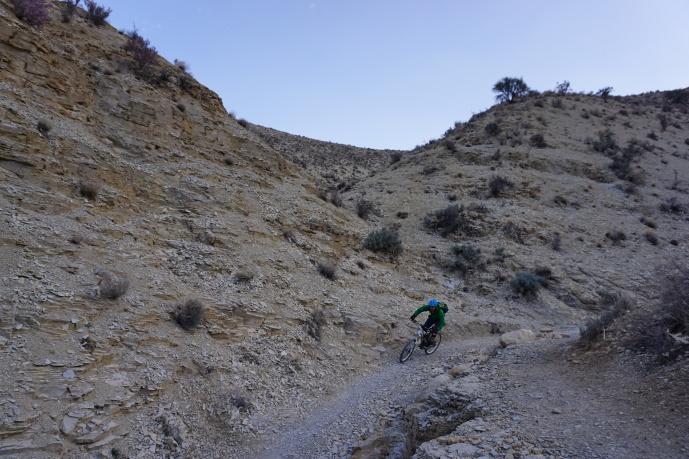 Weiter durch den Canyon.