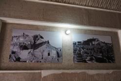 Bilder von Bam vor und nach dem Erdbeben 2003.