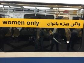 Metro in Teheran.